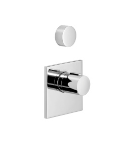 xTOOL thermostat with one volume control - polished chrome - 36416780-00_1_36310740-00_1