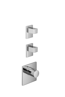 xTOOL thermostat with two volume controls - polished chrome - 36416780-00_1_36310730-00_2