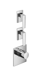 xTOOL thermostat with two volume controls - polished chrome - 36416780-00_1_36310732-00_2