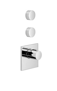 xTOOL thermostat with two volume controls - polished chrome - 36416780-00_1_36310740-00_2