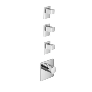 xTOOL thermostat with three volume controls - polished chrome - 36416780-00_1_36310730-00_3
