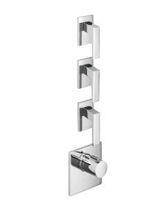 xTOOL thermostat with three volume controls - polished chrome - 36416780-00_1_36310732-00_3