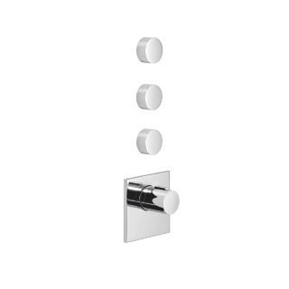 xTOOL thermostat with three volume controls - polished chrome - 36416780-00_1_36310740-00_3