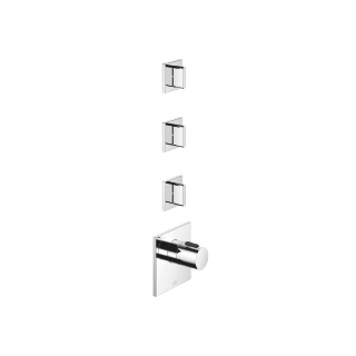 xTOOL thermostat with three volume controls - polished chrome - 36503780-00_1_36607705-00_3