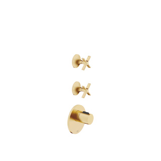 xTOOL Thermostat module with 2 valves - brushed Durabrass - 36503979-28_1_36607809-28_2