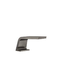 Tub spout without diverter for deck-mounted installation - Dark Platinum matte - 13612705-99