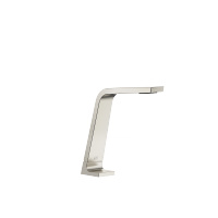 Deck-mounted basin spout without pop-up waste - platinum matt - 13715705-06