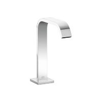 Deck-mounted basin spout without pop-up waste - polished chrome - 13716670-00