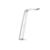 Deck-mounted basin spout without pop-up waste - polished chrome - 13717705-00