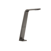 Deck-mounted basin spout without pop-up waste - Dark Platinum matt - 13717705-99