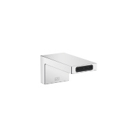 Wall-mounted basin spout without pop-up waste - polished chrome - 13800740-00