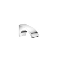 Wall-mounted basin spout without pop-up waste - polished chrome - 13800811-00