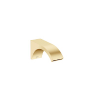 Wall-mounted basin spout without pop-up waste - brushed Durabrass - 13800811-28