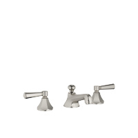 Three-hole basin mixer with pop-up waste - platinum matt - 20700370-06
