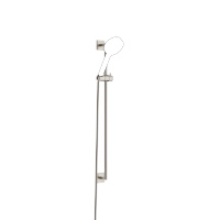 Shower set without hand shower - platinum matt - 26413980-06