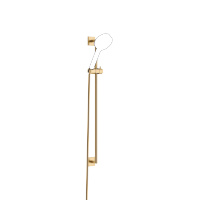 Shower set without hand shower - brushed Durabrass - 26413980-28
