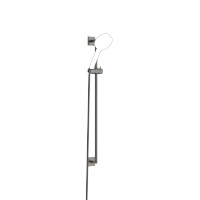 Garniture de douche sans douchette - Dark Platinum matt - 26413980-99