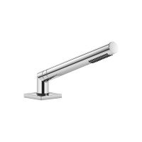 Hand shower set for deck-mounted tub installation - polished chrome - 27702980-00
