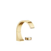 Two-hole lavatory mixer without drain - Brushed Durabrass - 29218811-280010