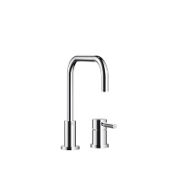 Two-hole mixer with individual rosettes - polished chrome - 32800625-00
