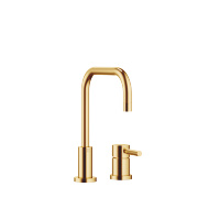 Two-hole mixer with individual flanges - Brushed Durabrass - 32800625-280010