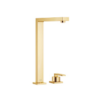 Two-hole mixer with individual rosettes - brushed Durabrass - 32800680-28