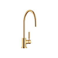 Single-lever mixer - Brushed Durabrass - 33826888-280010