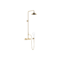 Showerpipe with shower thermostat without hand shower - Durabrass - 34459360-090010