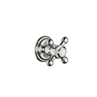 "Wall valve clockwise closing 1/2"" - platinum - 36607361-08"