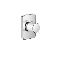"Wall valve clockwise closing 1/2"" - polished chrome - 36607710-00"