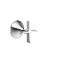 "Wall valve clockwise closing 1/2"" - polished chrome - 36607809-00"