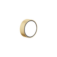 """Volume Control clockwise-closing cold 1/2"""" - Brushed Durabrass - 36607812-28"""