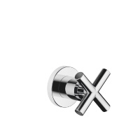 "Wall valve clockwise closing 1/2"" - polished chrome - 36607892-00"