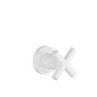 "Volume Control clockwise-closing 1/2"" - white matte - 36607892-10"