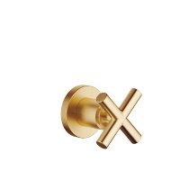 "Wall valve clockwise closing 1/2"" - brushed Durabrass - 36607892-28"