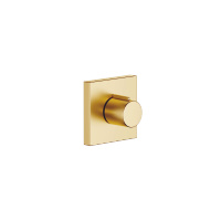 "Volume Control counter-clockwise closing 1/2"" - Brushed Durabrass - 36607980-28"