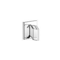 "Wall valve anti-clockwise closing hot 1/2"" - polished chrome - 36647707-00"